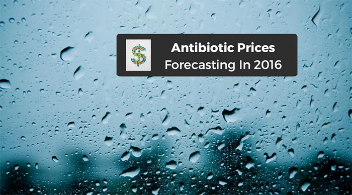 2016 antibiotic prices