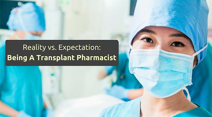 being a transplant pharmacist