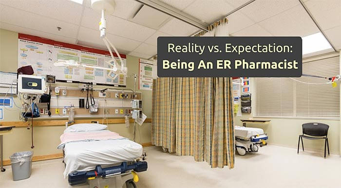 being an ER pharmacist