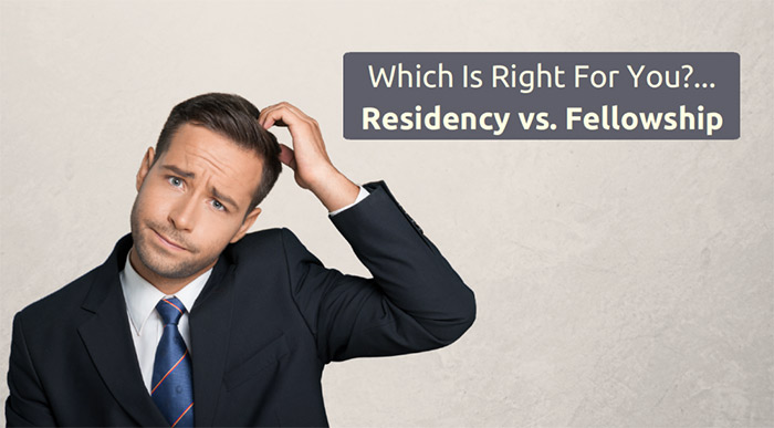 pharmacy residency vs fellowship