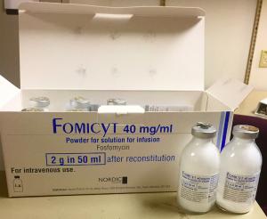 Fosfomycin IV