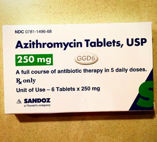 Azithromycin oral
