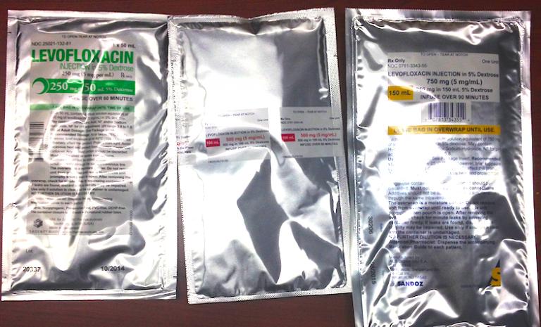 Levofloxacin IV