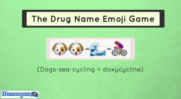 The Drug Name Emoji Game