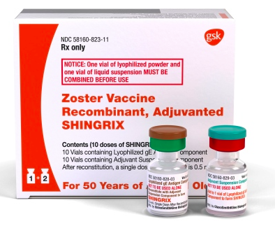 Zoster Vaccine Recombinant Adjuvanted Shingrix