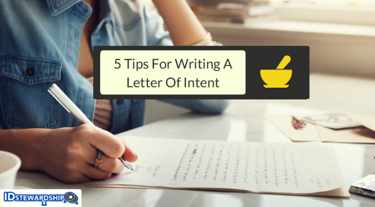 Five Tips For Writing A Letter Of Intent As Pharmacy Student Or