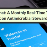 #ASPchat: A Monthly Real-Time Twitter Chat On Antimicrobial Stewardship