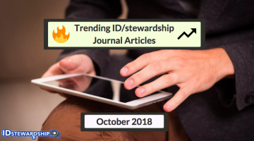 In Case You Missed It: Top ID/stewardship Journal Articles Trending On Twitter From October 2018
