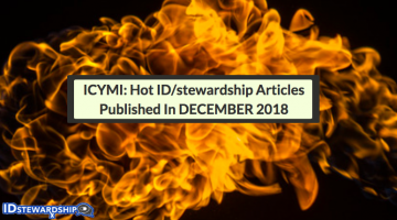 In Case You Missed It: Hot ID/stewardship Journal Articles Trending On Twitter From December 2018