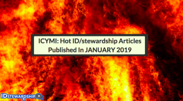 In Case You Missed It: Hot ID/stewardship Journal Articles Trending On Twitter From January 2019