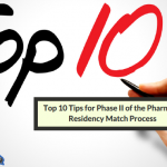 Top 10 Tips For Pharmacy Residency Match Phase 2