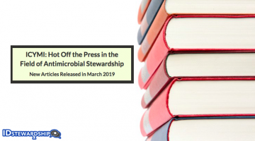 In Case You Missed It: Top ID/Stewardship Journal Articles Trending in March 2019