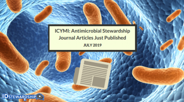 ICYMI: Top ID/Stewardship Journal Articles Just Released In July 2019