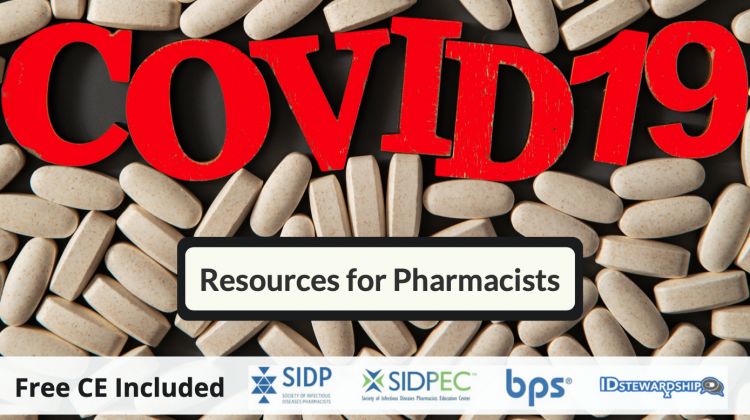 Coronavirus (COVID-19) Resources For Pharmacists
