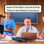 Some of The Best Journal Article Titles In The Medical Literature